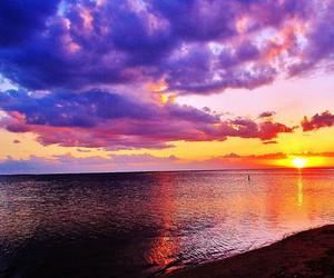 landscape, sunrise, and sunset image