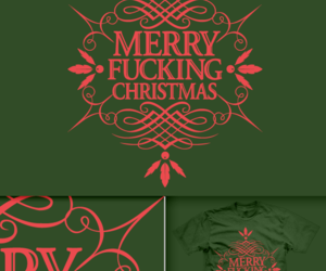 calligraphy, christmas, and merry image