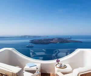 sea, Greece, and summer image