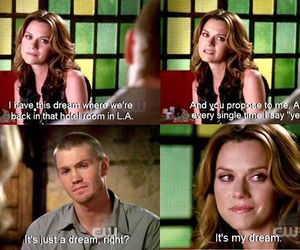 Dream, lucas, and one tree hill image