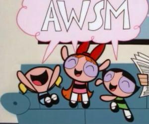 cartoon network, power puff girls, and girls image