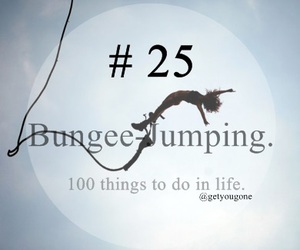25, free, and bungee jumping image