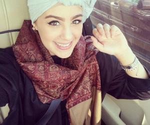arab, fashion, and hijab image