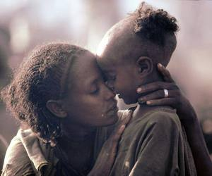 mother and child image