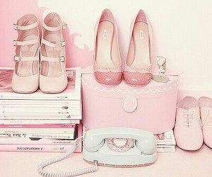 lolita, shoes, and fasshion image
