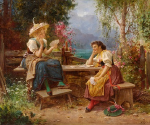 painting, regency, and romanticism image