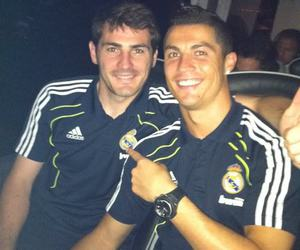 cristiano ronaldo, real madrid, and iker casillas image