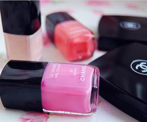 chanel, pink, and nail polish image