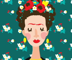 wallpaper, love, and Frida image