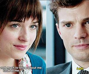 fifty shades of grey, christian grey, and ana image