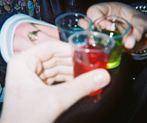 drink, party, and Shots image