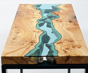 table, design, and wood image