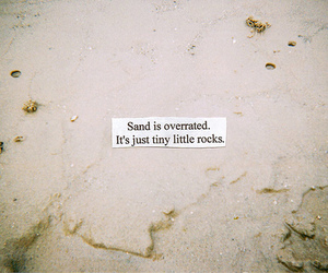 sand, quote, and text image