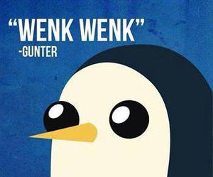 adventure time, gunter, and penguin image