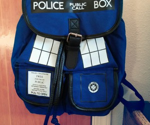 backpack, doctor who, and fashion image