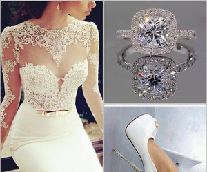 accessories, beautiful, and bride image