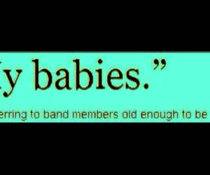 babies, band members, and bands image