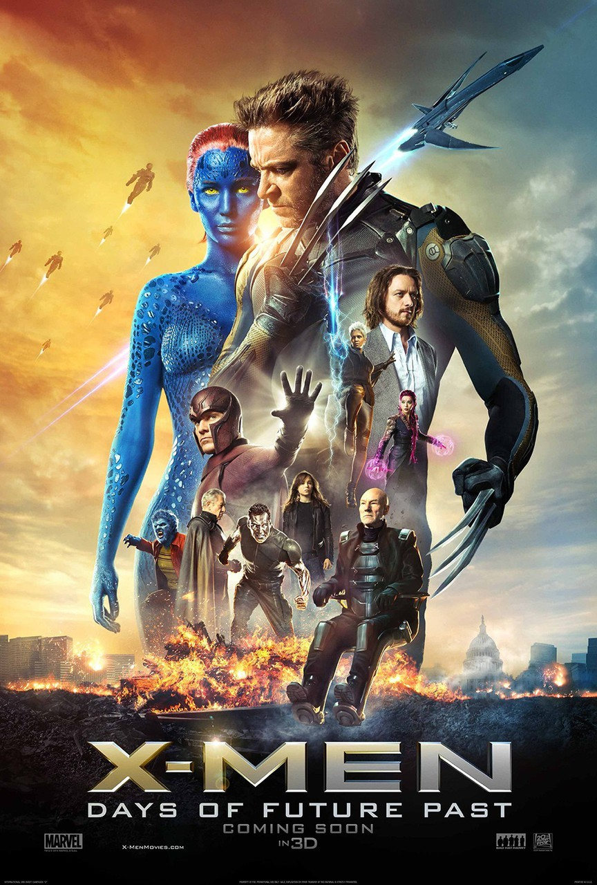 x-men, Jennifer Lawrence, and days of future past image