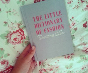 book, dior, and love image