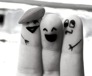 friends and fingers image