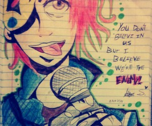 drawing, mcr, and my chemical romance image