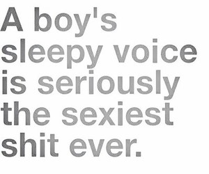boy, sexy, and voice image