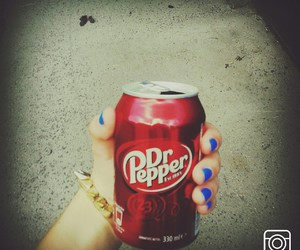blue, retrica, and Dr. Pepper image