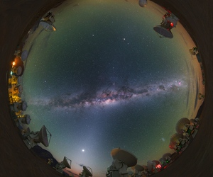 astronomy, milky way, and galaxy image