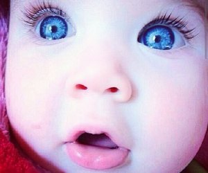 baby, cute, and blue image
