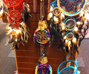 colors, dream catcher, and tumblr image