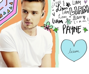 wallpaper, liam, and one direction image