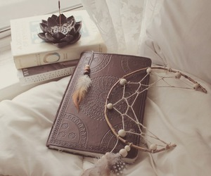 book and dreamcatcher image