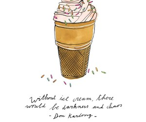 drawing, true, and ice cream image