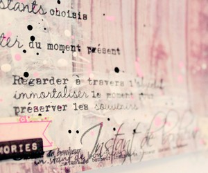 ecriture, girl, and fille image
