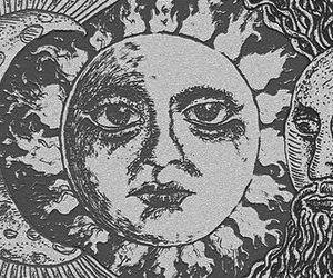 moon, sun, and indie image
