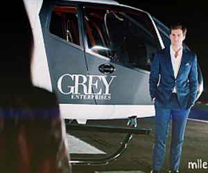 christian grey, fifty shades of grey, and charlie tango image