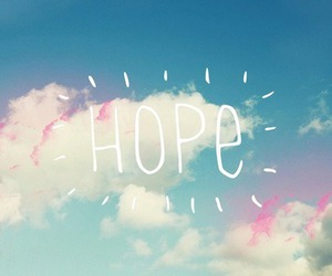 hope, sky, and clouds image