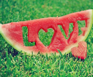 fruit, sweet, and heart image