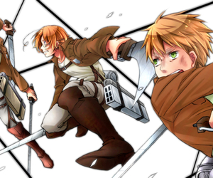 hetalia and attack on titian image