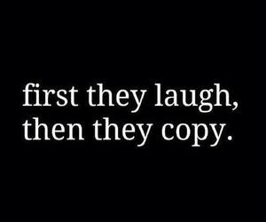 copy, laugh, and quotes image
