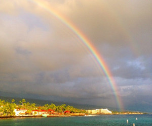 arco iris, chuva, and hawaii image