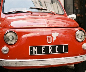 car, vintage, and merci image