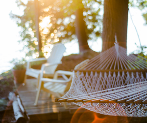 sun, hammock, and summer image