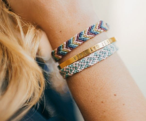 bracelet, friendship, and cute image