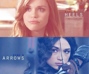 arrow, teen wolf, and holland roden image