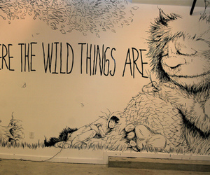 where the wild things are, wild, and art image