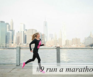 fit, girl, and Marathon image