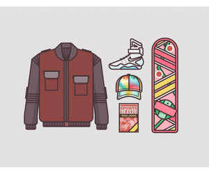 Back to the Future, gear, and McFly image