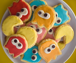 Cookies, pacman, and cute image