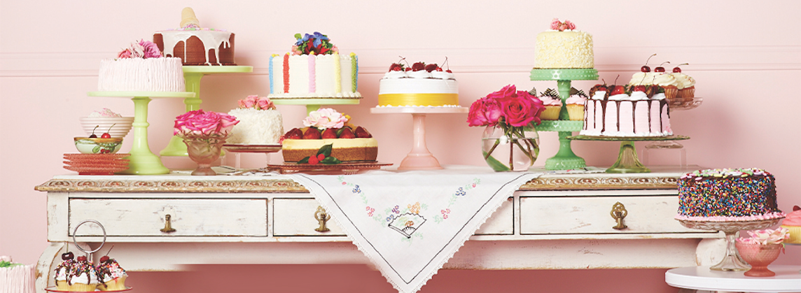 cake, candies, and pink image